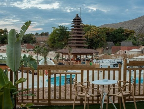 Polynesian Supreme Pool Club 2/5 pax Magic Natura Animal, Waterpark & Polynesian Resort - Benidorm