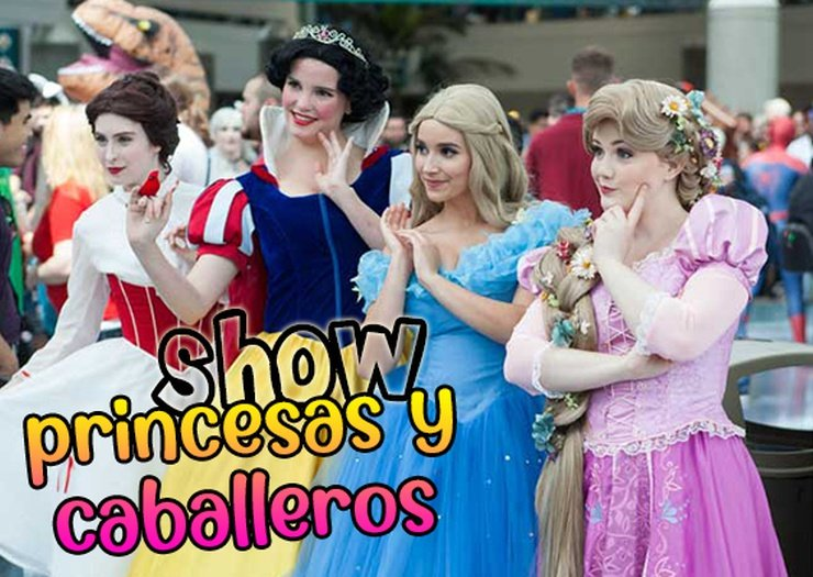 Show princesas y caballeros magic natura animal, waterpark resort benidorm