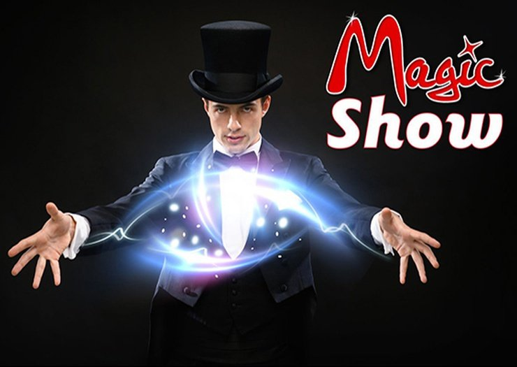 Magic show magic natura animal, waterpark resort benidorm