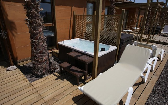 Polynesian Supreme Sea View Jacuzzi Yacht Club Magic Natura Animal, Waterpark & Polynesian Resort Benidorm