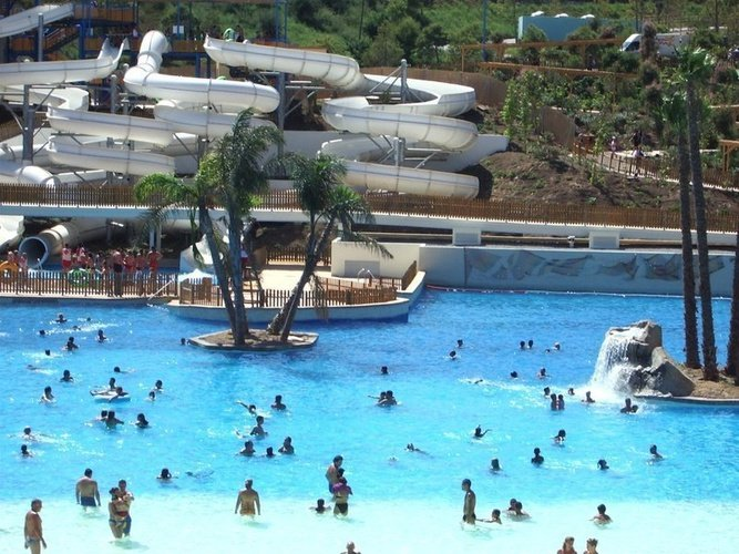 Piscina en Aqua Natura Magic Natura Animal, Waterpark Resort Benidorm