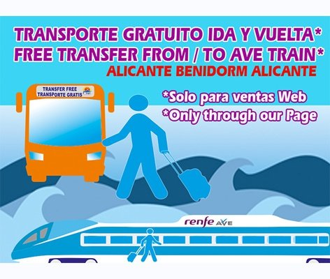 ¡Transfer GRATUITO! Magic Natura Animal, Waterpark Resort Benidorm