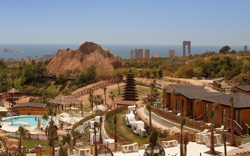 Vistas aéreas Magic Natura Animal, Waterpark & Polynesian Resort Magic Natura Animal, Waterpark Resort Benidorm