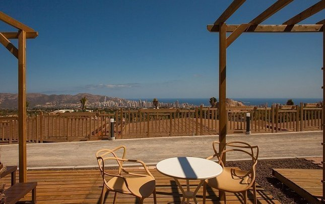 Polynesian Supreme Sea View 3/7 pax Magic Natura Animal, Waterpark & Polynesian Resort Benidorm