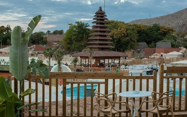 Polynesian Supreme Pool Club 2/5 pax Magic Natura Animal, Waterpark & Polynesian Resort Benidorm